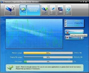 Memory Improve Master Free Download,Percepat Kerja/Proses Komputer PC